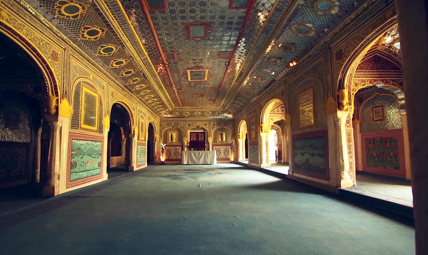 Samode Palace Jaipur Rajasthan